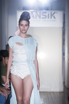 Makrogianni Elena, PANSiK fashion show 2014 www.pansik.gr