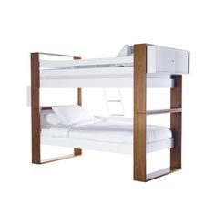 Austin Bunk Bed From Ducduc Llc  MidCentury  Modern, Wood, Bed by New York Design Center