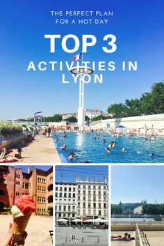 The perfect plan for a sunny day: 3 ultimate activities to do in Lyon when it's hot @ C'est la vie guide