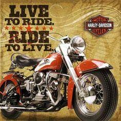 Harley-Davidson Lunch Napkins, Harley-Davidson Party Supplies