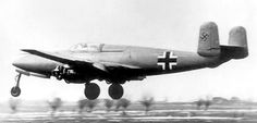 The Heinkel-He 280 was an early German jet. A test pilot was flying one when he needed the ejection seat for real.  1942: At the height of World War II, German test pilot Helmut Schenck becomes the first person known to use an ejection seat to successfully exit his aircraft in an emergency situation.