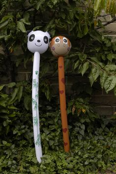 We are the best of friends #birthday party #safari #jungle party #kids balloons #gift #ideas #panda #monkey #balloons