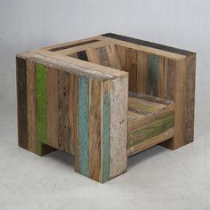 madera reusada