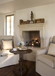 NEUTRAL HEAVEN - Interior Design and Mood Creation: French Château style fire-surround