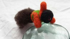 Items similar to Templeton is a handmade, needlefelted, soft sculpture, flying Alien! Made from sheep wool and hand dyed alpaca wool and plastic safety eyes on Etsy Alpaca Wool, Sheep Wool, Soft Sculpture, My Etsy Shop, Unique Jewelry, Handmade Gifts, Check, Vintage, Kid Craft Gifts