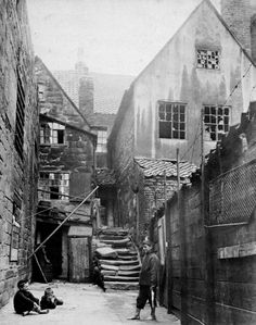 The Yard. ca. 1870