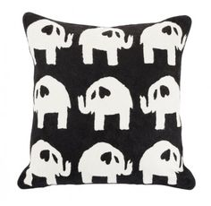 Elephant Parade #cushion #winter #linenandmoore
