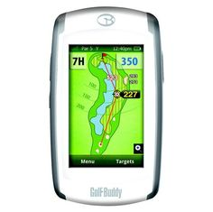 Golf Buddy Platinum GPS (2013) - Top-of-the-range touchscreen Golfing GPS - https://www.foremostgolf.com/golfbuddy-platinum-gps-2013-