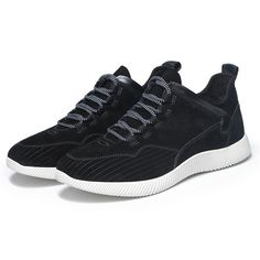 990a00d880e5 Second layer cow leather upper running shoes sport shoes for youth