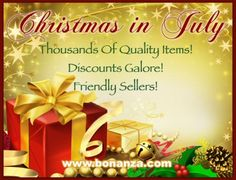 Bonanza Christmas in July Brings Bargains and Prizes