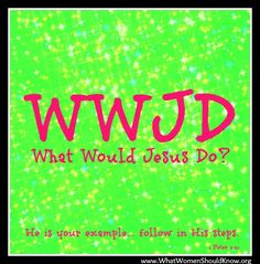 """WWJD: What Would Jesus Do? Link to free eBook of the classic novel that inspired this question -- """"In His Steps"""" by Charles Sheldon Church Camp, Kids Church, Inspirational Scriptures, Bible Verses, In His Steps, What Would Jesus Do, Online Bible Study, Bible Crafts For Kids, Church Activities"""