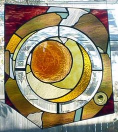 Converge  art glass panel by GlassGraphicsStudio on Etsy, $1585.00