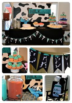 milkaholic baby shower ideas but use pin. Baby Shower Gift Bags, Personalized Baby Shower Favors, Baby Shower Favors Girl, Baby Shower Desserts, Baby Shower Themes, Shower Ideas, Cow Baby Showers, Elephant Baby Showers, Baby Boy Shower