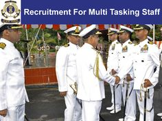 Indian coast guard recruitment for recruitment for multi tasking staff in calcutta. Apply for Indian coast guard jobs for the post of recruitment for multi tasking staff. Coast Gaurd, Indian Coast Guard, Chef Jackets