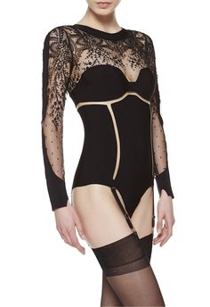 LA PERLA | Body-Reggicalze #laperlalingerie #lingerie