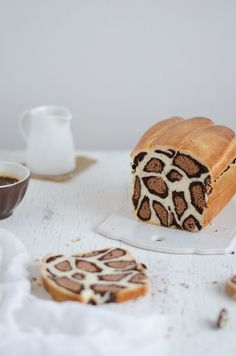 leopard milk bread//