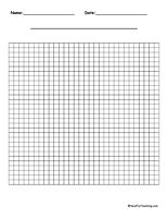 By  Y Axis Graphing Worksheets  First Grade Math