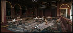 ArtStation - Assassin's Creed Unity - Café Théâtre, Pierre FLEAU