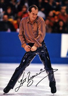 Kurt Browning We loved watching him skate, together.