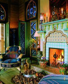 moorish living room - Google Search