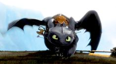 Favorite Toothless gif EVAH. TOOTHLESS WHY ARE YOU SO GORGEOUS?!!!!