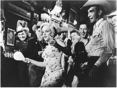 The Misfits ~ 1961 ~ Classic must see ~ Clark Gable, Marilyn Monroe, Montgomery Clift, Eli Wallach, Thelma Ritter ~  last movie for Gable & Monroe.  Great story, script, directed by John Huston ~ Blog attached for review ~ NMB 4/16/2012