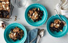Blueberry-Almond Crisp