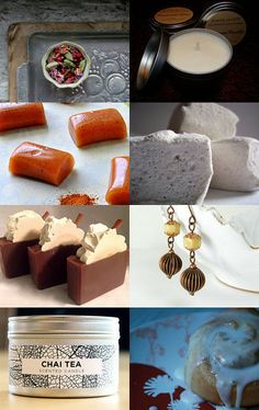 Chai Tea Heaven by Lisa Speroni on Etsy--Soap design inspiration