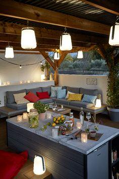 Die 14 besten Bilder von Lampe Terrasse | Ceiling Lamp, Diy lamps ...