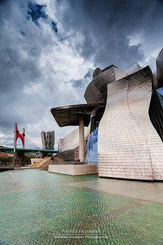 Guggenheim Museum. Bilbao Spain
