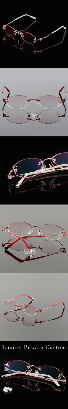 High Clear Eyeglasses Women Luxury Reading Glasses Lady Anti UV400 Protection 1.61 Aspherical Lens Prescription Eye Glasses 632