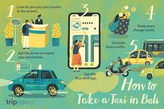 Blue Bird and Other Taxi Transportation Options in Bali Bird App, Taxi App, Bali Honeymoon, Pre Paid, Bali Travel, Blue Bird, Transportation, Take That, Learning