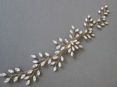 Beach Wedding Inspiration, Crystal Headband, Bridal Hair Vine, Bridal Salon, Wedding Beauty, Hair Pieces, Wire Jewelry, Or Rose, Wedding Accessories