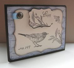Nature walk stamp set