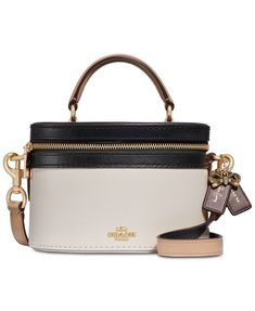 c5794b127ae5 A vintage-inspired silhouette brings undeniable charm to the poised COACH  Selena Gomez Crossbody. Shop Macy s COACH x Selena Gomez collection now!