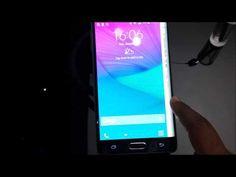 Samsumg Galaxy Note Edge at CES2015