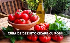 Cura cu roșii sau suc de roșii poate fi extrem de binefăcătoare, atât celor bolnavi, cât și celor sănătoși. Pe lângă faptul că determină o curățare serioasă a organismului, ajută la creșterea rezistenței în fața bolilor și a infecțiilor. Tomatele […] The post Câteva zile numai cu roșii vor produce o dezintoxicare semnificativă a corpului appeared first on LaTAIFAS.