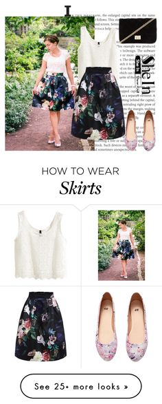 """""""Floral skirt"""" by fashionholics-h-a on Polyvore featuring H&M and Forever 21"""