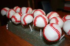 baseball...the only way I'll make cake pops