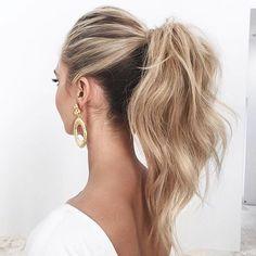 Love ponytails.