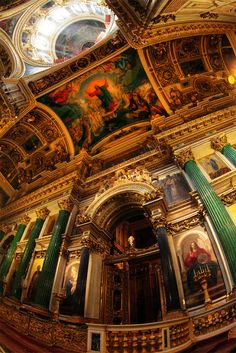 Saint Isaac's Cathedral, Russia. This is living proof of how Russian's can proper with religion diversity, making this a human interaction.