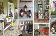 40+ Rustic Vintage Porch Decor Ideas to Bring Warmth to Your Home's Exterior
