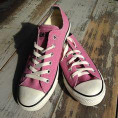 Vintage Pink Converse Allstars  Good Sole  Size M6 by ShopKingDude, $48.00