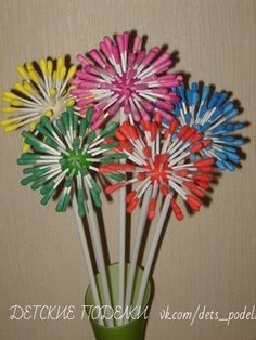 50 Awesome Spring Crafts for Kids Ideas - Basteln Frühling - Crafts Mothers Day Crafts For Kids, Spring Crafts For Kids, Valentines For Kids, Easy Crafts For Kids, Summer Crafts, Toddler Crafts, Kids Crafts, Art For Kids, Arts And Crafts
