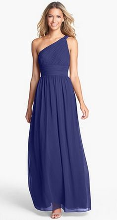 Beautiful in blue - dress by Donna Morgan