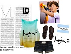 """Louis Tomlinson"" by lina-bean on Polyvore"