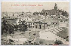 Tarjeta Postal Sevilla Vista parcial y Catedral facsimil (CG-949) | eBay