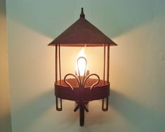 Adorable vintage French lantern in wrought iron French farmhouse decor French Farmhouse Decor, French Decor, Wrought Iron Chandeliers, Vintage Lanterns, Wall Lights, Ceiling Lights, Rococo Style, Wall Lantern, Iron Wall