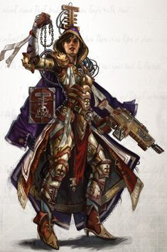 warhammer 40k female inquisitor - Поиск в Google