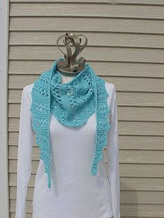 Kriskrafter: September 2013. 3 simple lace scarf pattern to knit. Good beginner patterns